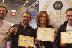 Remise des Scuba Awards 2018
