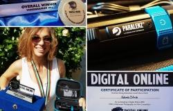 Digital online Prize and Awards